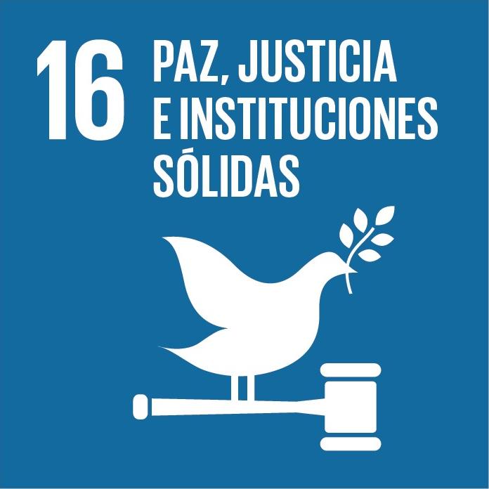 Promover sociedades pacíficas e inclusivas para el desarrollo sostenible, facilitar el acceso a la justicia para todos y crear instituciones eficaces, responsables e inclusivas a todos los niveles.