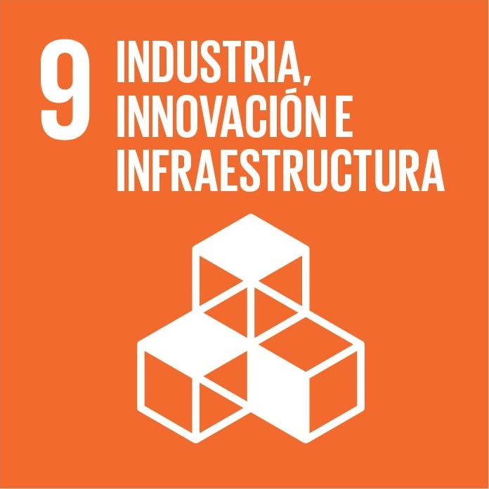 Construir infraestructuras resilientes, promover la industrialización inclusiva y sostenible y fomentar la innovación.